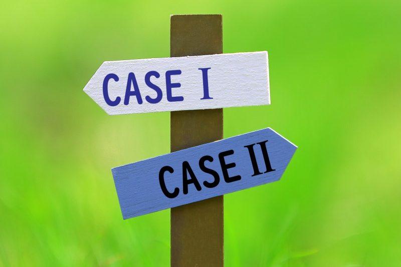 CASE1とCASE2の分岐